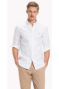 타미 힐피거 Tommy Hilfiger Cotton Oxford Stretch Shirt