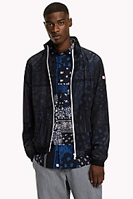 타미 힐피거 캐주얼 자켓 Tommy Hilfiger Printed Jacket,SKY CAPTAIN
