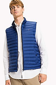 타미 힐피거 Tommy Hilfiger Packable Vest,LIMOGES