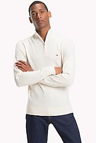 타미 힐피거 울 집업 스웨터 Tommy Hilfiger Wool Zip Mockneck Sweater