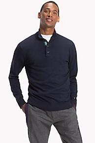 타미 힐피거 실크 스웨터 Tommy Hilfiger Cotton Silk Popover Sweater