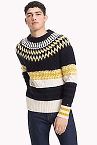 타미 힐피거 울 스웨터 Tommy Hilfiger Wool Fair Isle Pattern Sweater