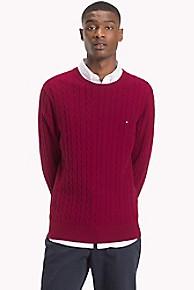 타미 힐피거 꽈배기 니트 스웨터 Tommy Hilfiger Classic Cableknit Sweater