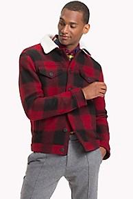 타미 힐피거 캐주얼 체크 패턴 자켓 Tommy Hilfiger Buffalo Plaid Jacket,BUFFALO CHECK RED