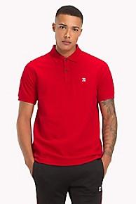 타미 힐피거 Tommy Hilfiger Lewis Hamilton Logo Polo Shirt