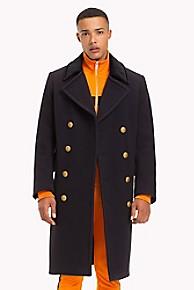 타미 힐피거 코트 Tommy Hilfiger Lewis Hamilton Military Coat,SKY CAPTAIN