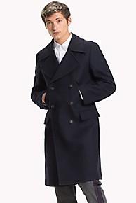 타미 힐피거 울 더블 코트 Tommy Hilfiger Double-Breasted Wool Coat