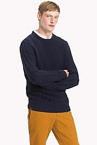 타미 힐피거 크루넥 스웨터 Tommy Hilfiger Cotton Crewneck Sweater