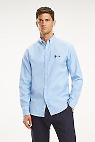 타미 힐피거 Tommy Hilfiger TOMMYXMERCEDES-BENZ Oxford Shirt