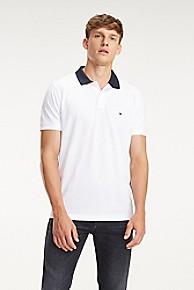 타미 힐피거 Tommy Hilfiger Regular Fit Logo Collar Polo