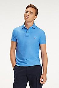 타미 힐피거 Tommy Hilfiger Slim Fit Pique Cotton Polo