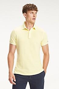 타미 힐피거 Tommy Hilfiger Garment Dyed Tipped Polo