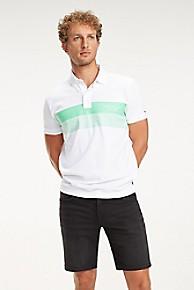 타미 힐피거 Tommy Hilfiger Pique Cotton Stripe Logo
