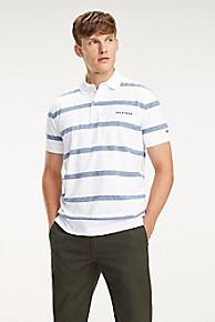 타미 힐피거 Tommy Hilfiger Cotton Jersey Stripe Polo