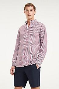 타미 힐피거 스트라이프 셔츠 Tommy Hilfiger Cotton Poplin Stripe Shirt