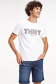 타미 힐피거 Tommy Hilfiger NY Logo T-Shirt