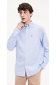 타미 힐피거 Tommy Hilfiger End-On-End Regular Fit Shirt