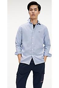타미 힐피거 Tommy Hilfiger Houndstooth Slim Fit Shirt