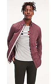 타미 힐피거 Tommy Hilfiger Gingham Slim Fit Shirt