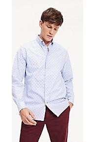 타미 힐피거 Tommy Hilfiger Microflag Regular Fit Shirt,REGATTA