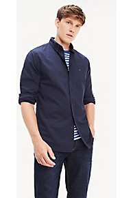 타미 힐피거 Tommy Hilfiger Essential Regular Fit Shirt