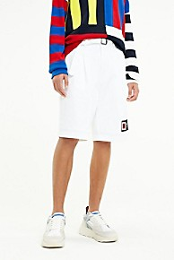 타미 힐피거 Tommy Hilfiger Solid Regatta Short,BRIGHT WHITE
