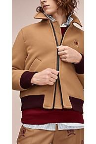 타미 힐피거 Tommy Hilfiger 타미 힐피거 Hilfiger Collection Tailored Wool Jacket,DIJON