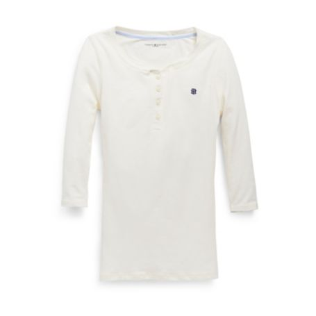 Image for 3/4 SLEEVE SOLID HENLEY from Tommy Hilfiger USA