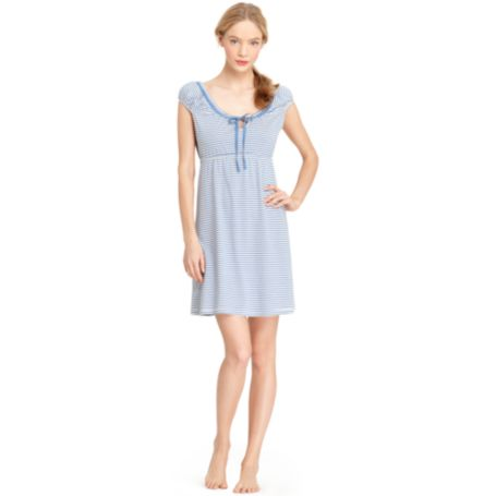 Image for STRIPE SLEEP DRESS from Tommy Hilfiger USA