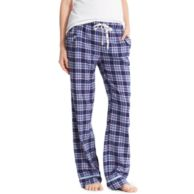 FLANNEL PLAID PANT $48.00