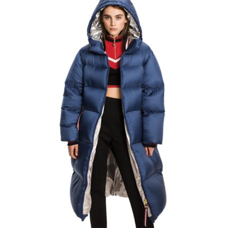 Tommy Hilfiger Oversized Down Puffer - Peacoat - 12