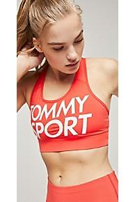 타미 힐피거 Tommy Hilfiger Tommy Sport Logo Bra Top