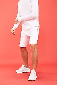 타미 힐피거 Tommy Hilfiger Tommy Sport Purist Basketball Short,WHITE