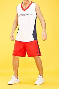 타미 힐피거 Tommy Hilfiger Tommy Sport Icon Basketball Short