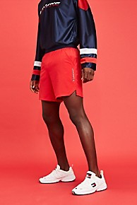 타미 힐피거 Tommy Hilfiger Tommy Sport Training Short,TRUE RED