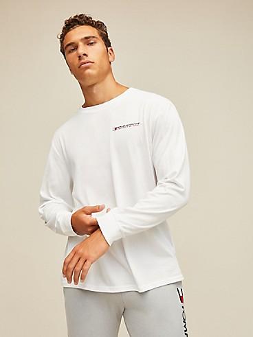타미 힐피거 Tommy Hilfiger Wicking Long Sleeve T-Shirt