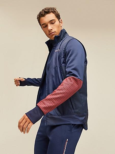 타미 힐피거 스포츠 조끼 Tommy Hilfiger Sport Reflective Glow Insulating Vest,SPORT NAVY