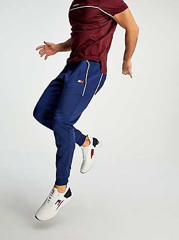타미 힐피거 Tommy Hilfiger Wicking Training Pant,BLUE INK