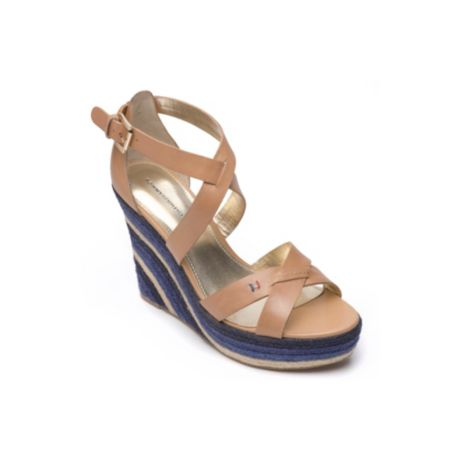 Image for COLORED ESPADRILLE WEDGE from Tommy Hilfiger USA