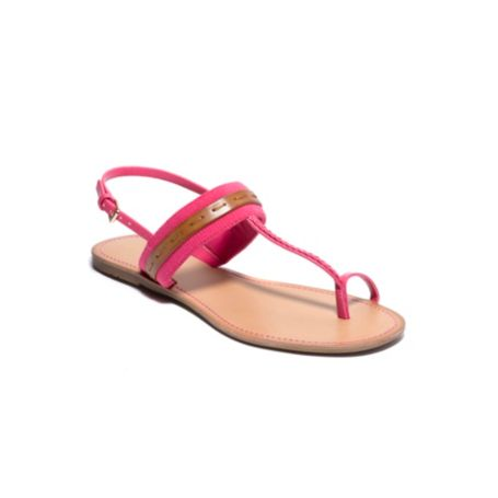 Image for STRIPED WEBBING TOE SANDAL from Tommy Hilfiger USA