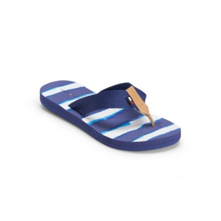 Image for WATERCOLOR STRIPE FLIP FLOP from Tommy Hilfiger USA