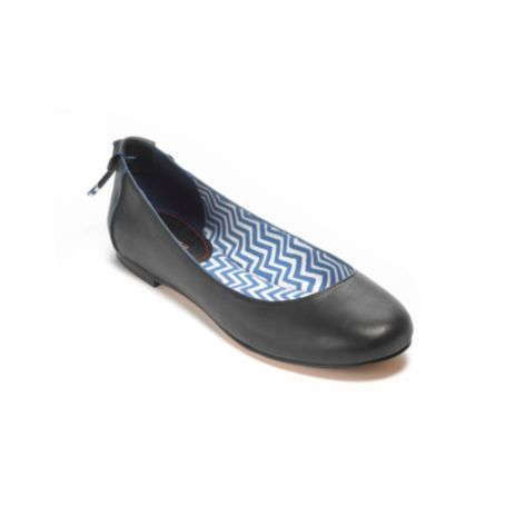 Image for SOLID LEATHER BALLET FLAT from Tommy Hilfiger USA
