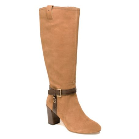 Image for SUEDE HEELED KNEE HIGH BOOT from Tommy Hilfiger USA