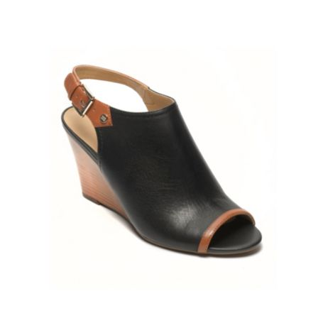 Image for CLASSIC OPEN TOE WEDGE from Tommy Hilfiger USA
