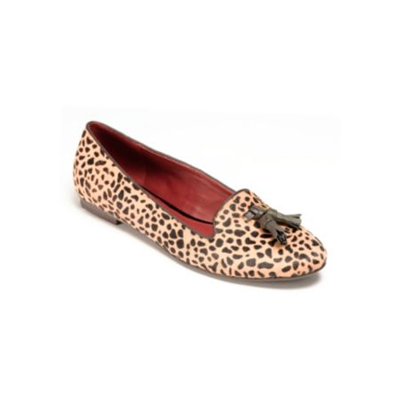 Image for LEOPARD PONY HAIR SMOKING SLIPPER from Tommy Hilfiger USA