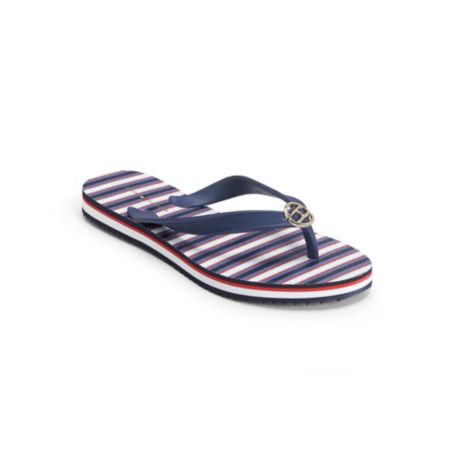 Image for MULTI-STRIPE FLIP FLOP from Tommy Hilfiger USA