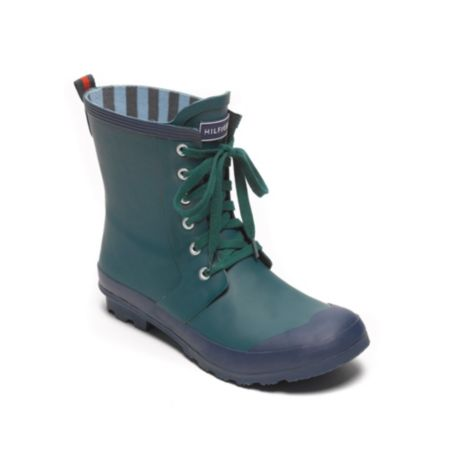 Image for SHORT LACE UP RAIN BOOT from Tommy Hilfiger USA