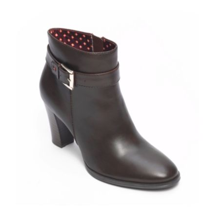 Image for BUCKLE HEEL BOOTIE from Tommy Hilfiger USA