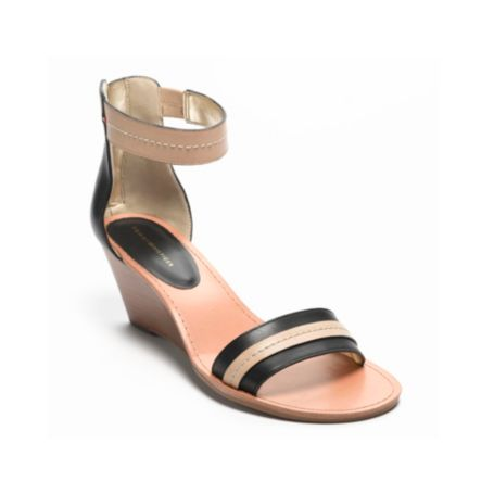 Image for ANKLE STRAP MINI WEDGE from Tommy Hilfiger USA