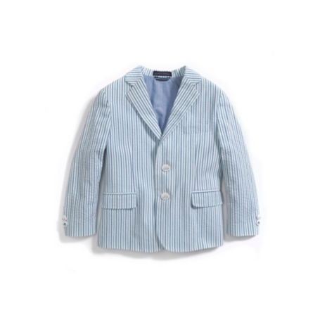 Image for LAYETTE SEERSUCKER STRIPE BLAZER from Tommy Hilfiger USA